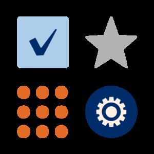 Velatia: logotipos