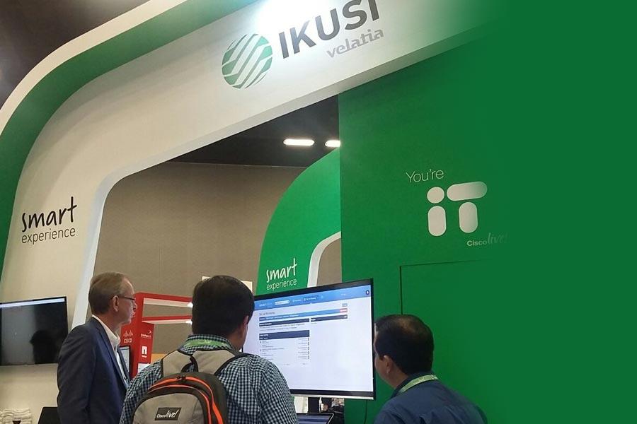 Velatia: IKUSI - Ikusi en el cisco live latam 2017