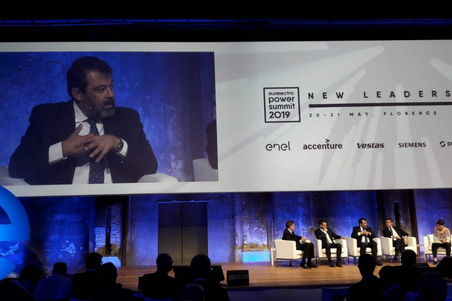 Javier Ormazabal, President of Velatia, participates in Power Summit 2019, held in Florencia