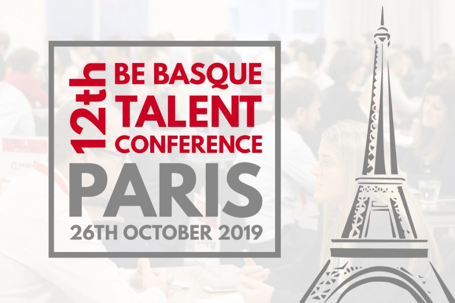 On 26 October, Velatia will attend the Be Basque Talent Conference, which will be held in Paris