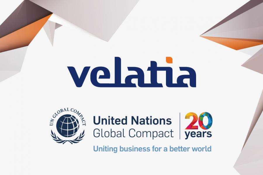 Velatia refuerza su compromiso con el Pacto Mundial de las Naciones Unidas