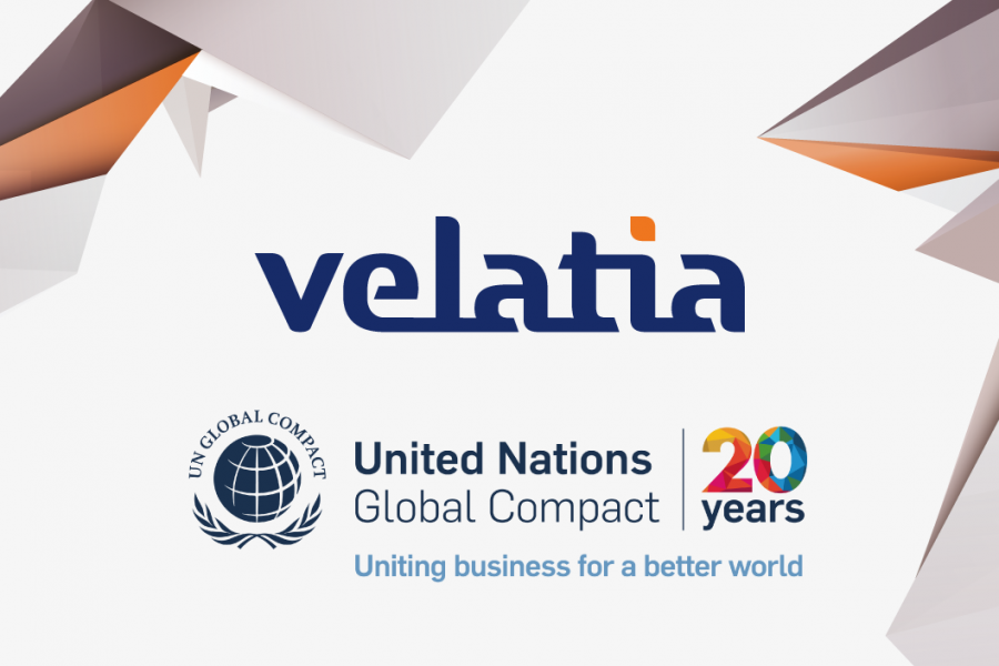 Velatia reaffirms its commitment to the United Nations Global Compact