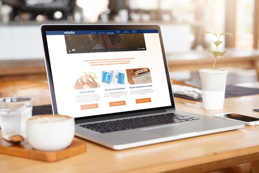 Velatia reafirma su compromiso con la sostenibilidad lanzando un nuevo apartado de sostenibilidad en su web