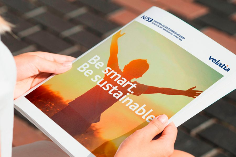 Velatia publishes its new Sustainability Report